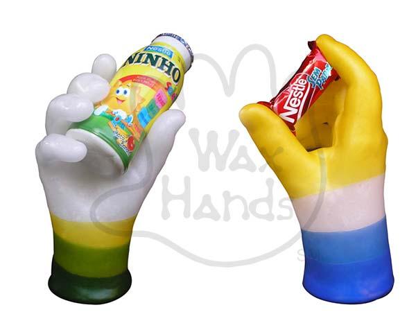 Corporate hands